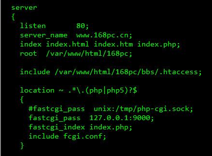 Linux下nginx支持.htaccess文件实现伪静态的方法