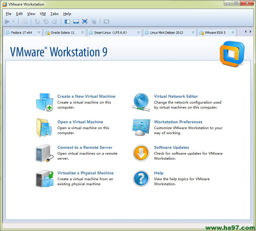 VMware Workstation 9.0正式版下载(带序列号)