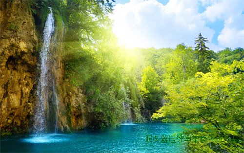 sunny waterfalls