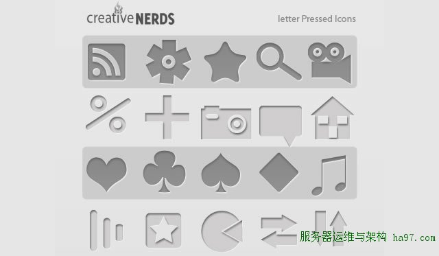 330 Free Letter Pressed Icons