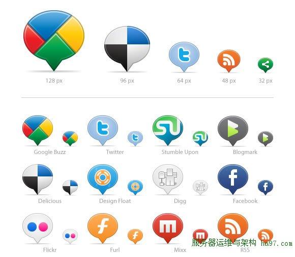 Social Media Balloons