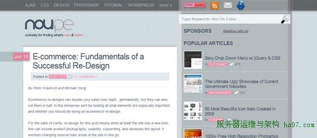 E-commerce: Fundamentals of a Successful Re-Design
