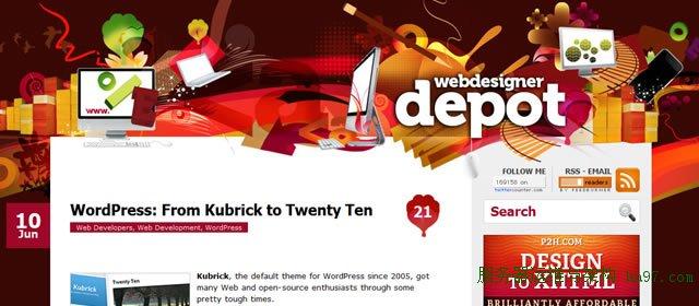 WordPress: From Kubrick to Twenty Ten