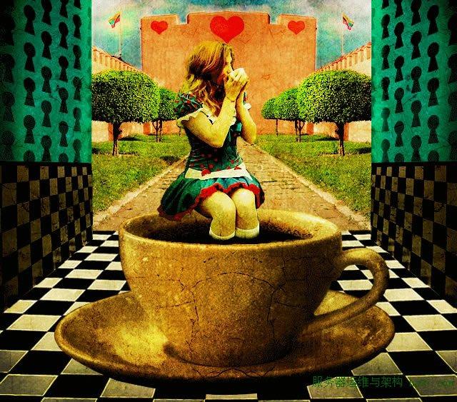 Alice in Wonderland Drinking Tea in the Royal Courtyard  (Tutorial)
