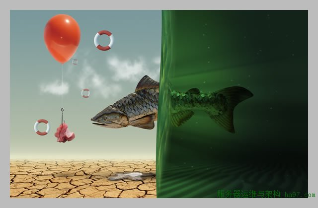 Desert Fish: Surreal Photo Manipulation Part-1 « PsAwesome★  Awesome Photoshop Tutorials