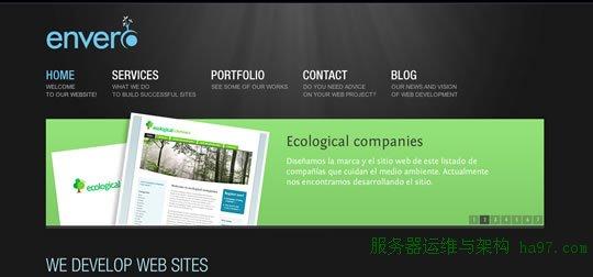 55款网页设计中激发灵感的幻灯片案例