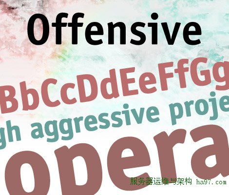 Offensive Bold free font