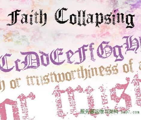 Faith Collapsing free font