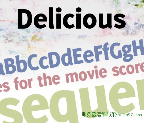 Delicious Heavy free font