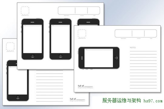 printable wireframing templates