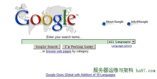 Google首页