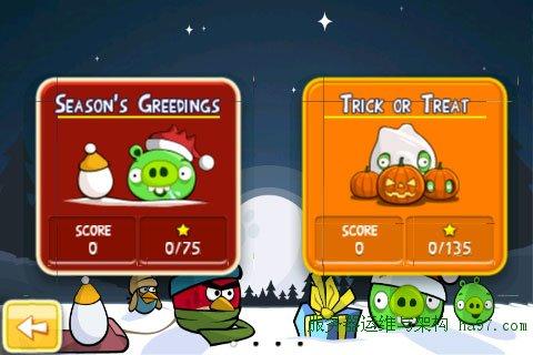 愤怒的小鸟季节版(Angry Birds Season)