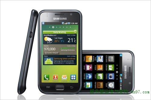 热门Android手机:三星i9000