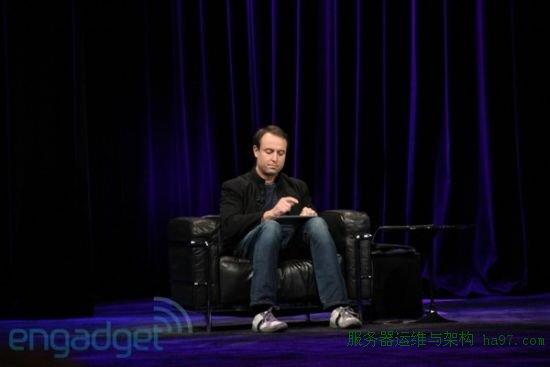 Xander Soren对GarageBand进行演示