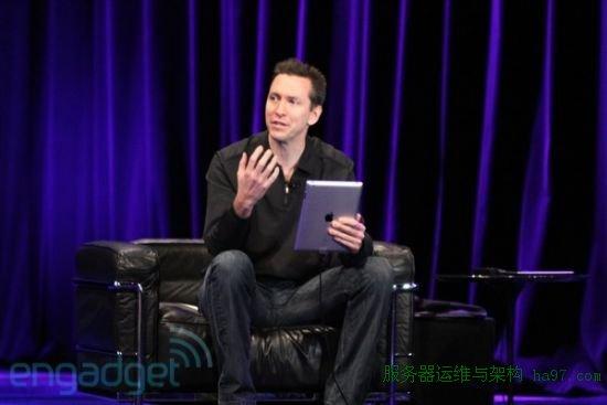 Randy Ubillos演示如何在iPad 2上使用iMoive