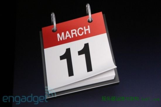 iPad 2将在3月11日上市