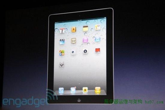 黑色版iPad 2