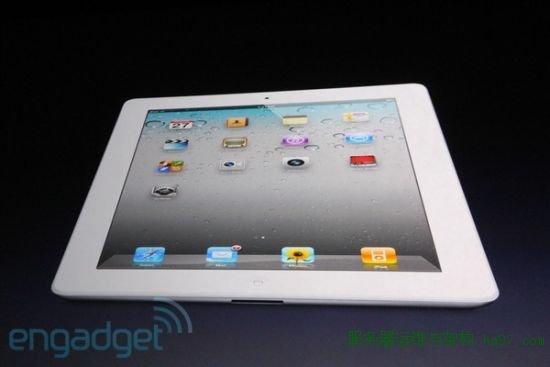 白色版iPad 2
