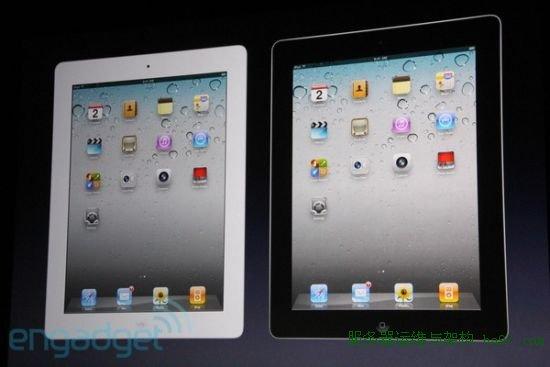 iPad 2会有白色版
