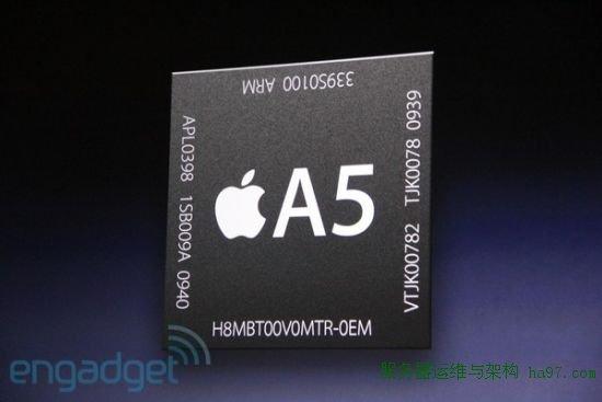 iPad 2将使用A5双核处理器