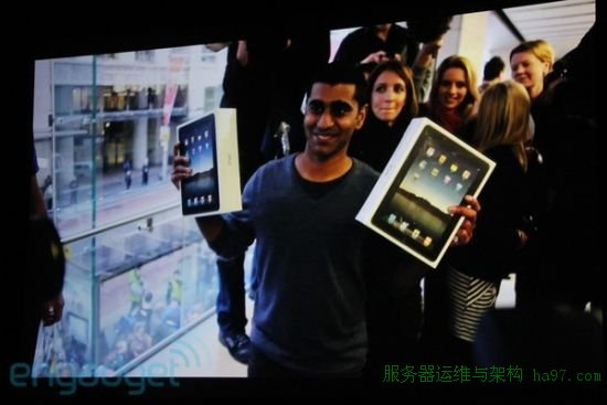iPad发售时的盛况