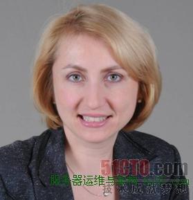 IBM系统软件部市场与销售副总裁Inna Kuznetsova